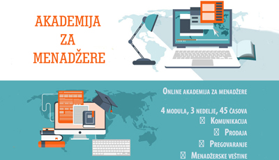 Online akademija za menadžere