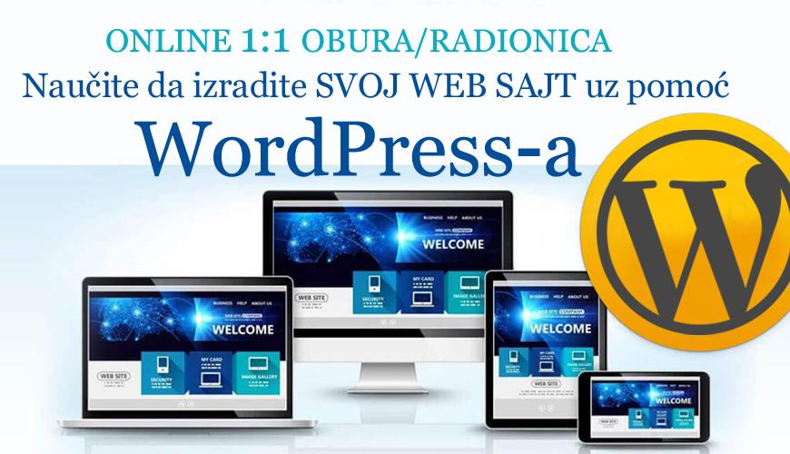 Wordpress online obuka