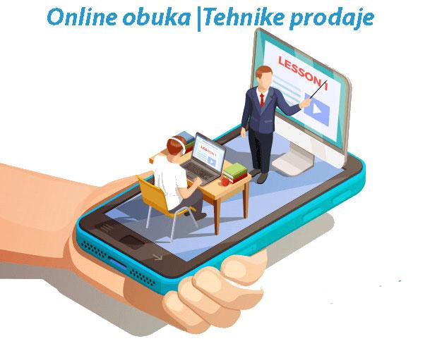 Tehnike prodaje | Online obuka